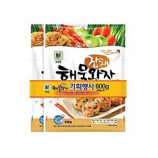 Seafood Patty Japchae 2 Pack Set 1.32lb(300g+300g)