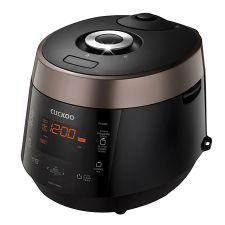 Pressure Rice Cooker/Warmer CRP-P1009S (10 cups) - Rose Brown + Black