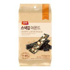 Crispy Laver Snack Almond 0.71oz(20g) 6 Packs