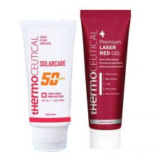 SolarCare 50+Ultra and Premium Laser Red Gel 1.69 fl.oz(50ml) & 3.38 fl.oz(100ml)