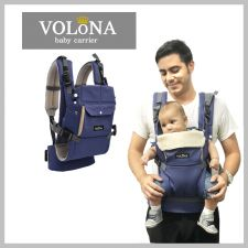 Volona S Baby Carrier Royal Blue + Free Teething Pad