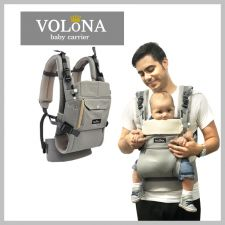 Volona S Baby Carrier Gray + Free Teething Pad