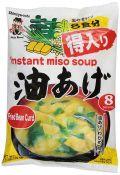 Shinsyu-ichi Instant Miso Soup Fried Bean Curd 6.21oz(176g), Shinsyu-ichi 인스턴트 미소스프 Fried Bean Curd 6.21oz(176g)