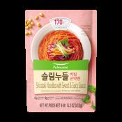 Pulmuone Shirataki Noodles with Sweet&Spicy Sauce 14.5oz(410g), 풀무원 슬림누들 비빔곤약면 14.5oz(410g), Pulmuone Shirataki Noodles with Sweet&Spicy Sauce 14.5oz(410g)