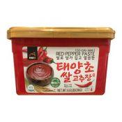 HAIO Red Pepper Paste Mild 6.6lb(3kg), HAIO 태양초 쌀 고추장 순한맛 6.6lb(3kg)