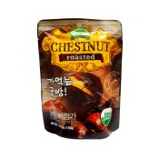 Organic Farm Roasted Organic Chestnut with Shell 5.3oz(150g), 유기농장 오가닉 까먹는 군밤 5.3oz(150g), 有機農場 有機帶殼烤板栗 5.3oz(150g)