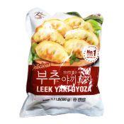 Ktown Leek Yaki Gyoza 1.1lb(500g), 케이타운 부추 야끼 교자 1.1lb(500g)
