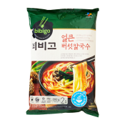 CJ Bibigo Spicy Mushroom Noodle Soup 20.88oz(502g), CJ 비비고 얼큰 버섯 칼국수 20.88oz(502g)