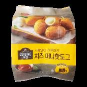 Cuisine Cheese Mini Hotdog 14.28oz(405g), 퀴진 치즈 미니핫도그 14.28oz(405g)