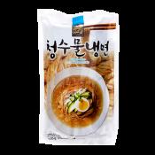Choung Soo Mul Naengmyeon (Korean Cold Noodle) 25.40oz(720g), 청수 물 냉면 건면 25.40oz(720g)