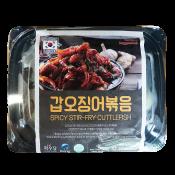Hwaudang Spicy Stir-Fry Cuttlefish 12oz(360g), 화우당  갑오징어볶음 12oz(360g)