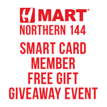 H Mart NORTHERN 144(NY) SMART CARD MEMBER FREE GIFT GIVEAWAY EVENT!