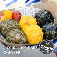 3 Color rice balls / 삼색주먹밥
