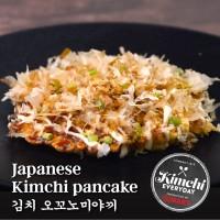 Japanese kimchi Pancake / 김치 오꼬노미야끼