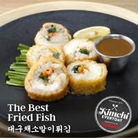 The best fried fish / 대구채소말이튀김