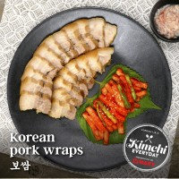 Korean pork wraps / 보쌈