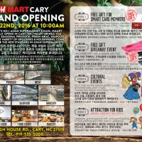 [Grand opening] Hmart Cary, NC