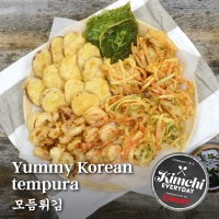 Yummy Korean tempura / 모듬튀김