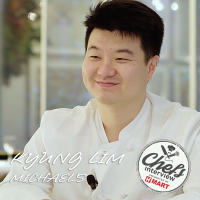 Chef Kyung Up Lim at Michael's New York : Korean Fried Chicken / 양념 치킨