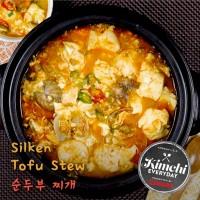 Silken tofu stew / 순두부찌개