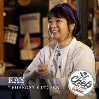 Chef Kay Hyun at Thursday kitchen