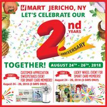 H Mart Jericho 2nd Year Anniversary Event!