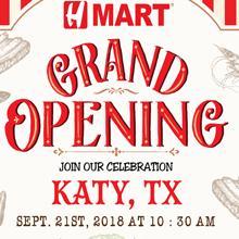 [Grand opening] Hmart Katy, TX