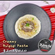 Creamy Bulgogi pasta / 불고기크림파스타