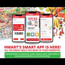 HMART'S SMART APP IS COMING SOON!
