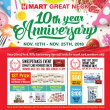 Hmart Great Neck 10th year Anniversary Event!