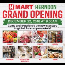 [Grand Opening] H Mart Herndon, VA