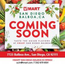 [Coming Soon] H Mart San Diego Balboa, CA