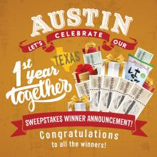 [H Mart Austin TX] Congratulations to All the winners!