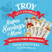 [H Mart Troy MI] Congratulations to All the winners!