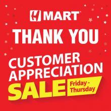 [VA/MD] Customer Appreciation Sale