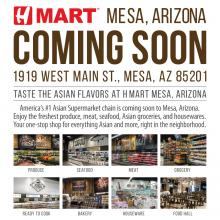 [Coming Soon] H Mart Mesa, AZ