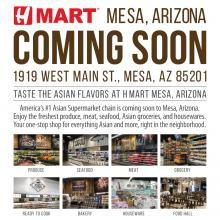 [Coming Soon] H Mart  Mesa, AZ