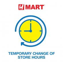 Temporary Change of Store Hours