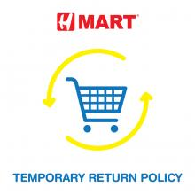 Temporary Return Policy