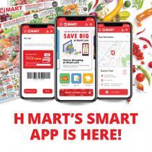 H Mart's Smart App is here !