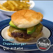 Kimchi cheese burger / 김치치즈버거