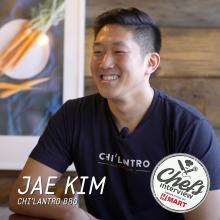 Chef Jae Kim at Chi'Lantro Barbecue : Spicy Chicken Kimchi Fries / 매운 닭 김치 감자튀김