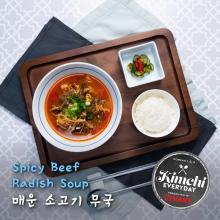 Spicy Beef Radish Soup / 매운 소고기 무국
