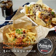 Bulgogi Nachos & Kimchi Fries / 불고기 나쵸와 김치 프라이스