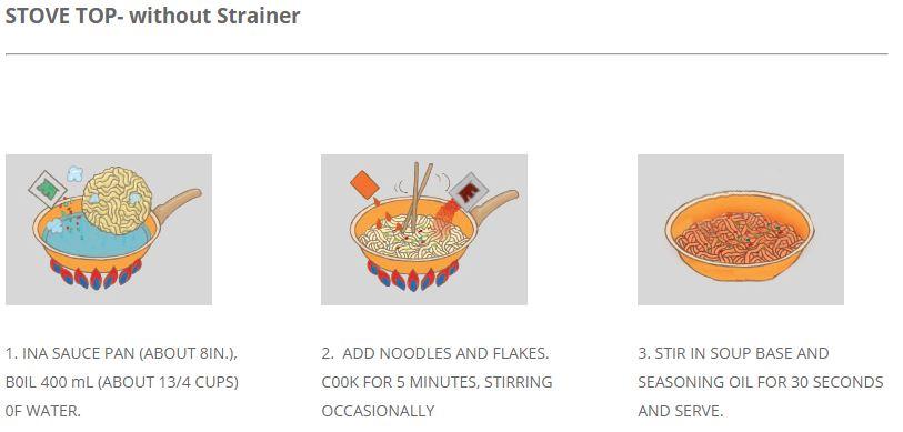 Stir Fry Neoguri 4.83oz(137g) 4 Packs