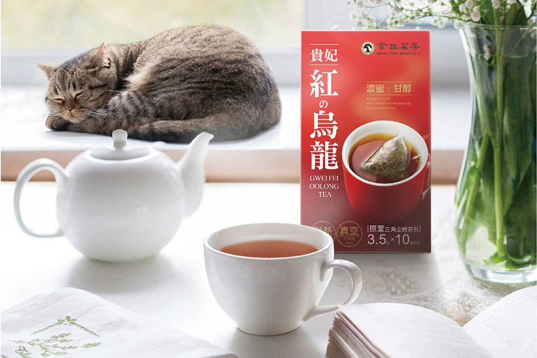 Gwei Fei Red Oolong Tea 0.12oz(3.5g) 10 Bags