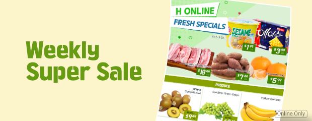 hfresh weekly sale