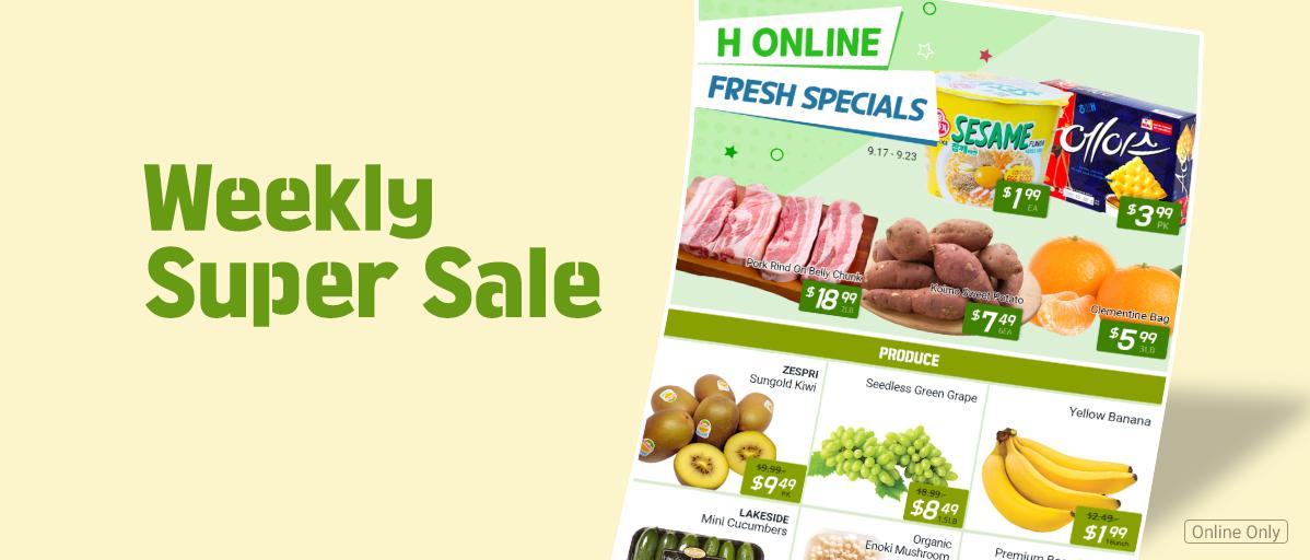 Fresh Weekly Super Sale